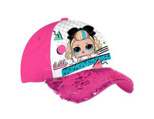 Lol Surprise Pink Paillettes Cappellino Coriex