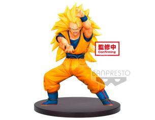 Dragon Ball Super Chosenshiretsuden Vol. 4 Super Saiyan 3 Son Gokou Figura 16cm Banpresto