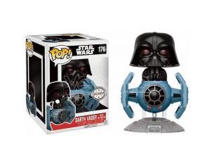 Star Wars Funko Pop Vinile Figura Darth Vader Tie Fighter 15cm Esclusiva