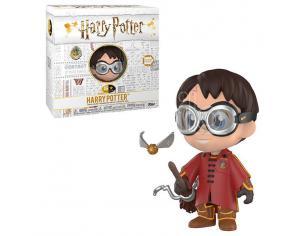 5 Star Figura Harry Potter Harry Quidditch Vinile Esclusiva Funko
