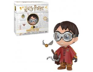 Harry Potter Funko Vinile 5 Star Vinile Figura Harry Quidditch 8 cm Esclusiva