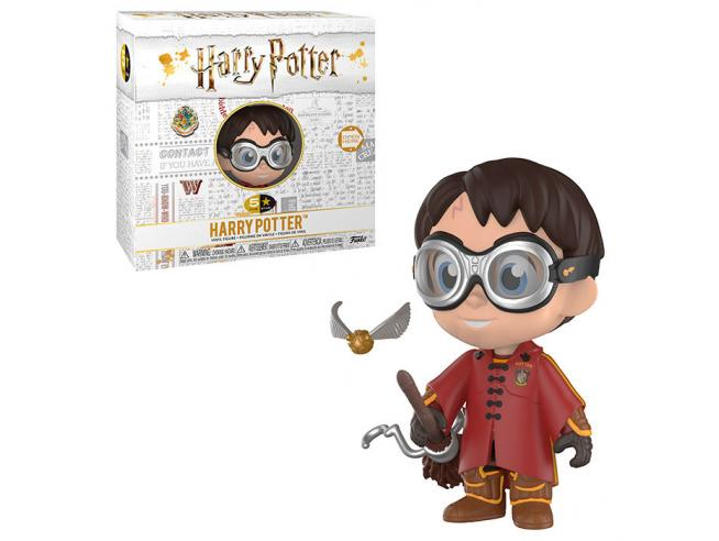 Harry Potter Funko Vinile 5 Star Figura Harry Quidditch Esclusiva