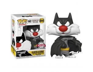 Looney Tunes Funko POP Animazione Vinile Figura Silvestro come Batman 9 cm Esclusiva