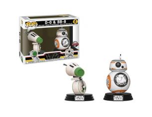 Pop Pack 2 Figures Star Wars Rise Of Skywalker D-o E Bb-8 Esclusiva Funko