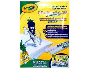 Crayola Recharge Set Of Odorous Adesivi Laboratory Crayola