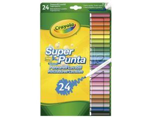 Crayola Set 24 Washable Super Line Markers Crayola
