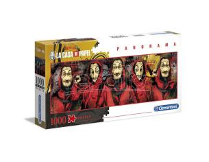 Money Heist Panorama puzzle 1000pcs Clementoni