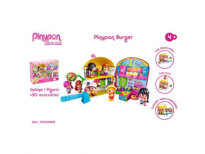 Pinypon Burguer Famosa
