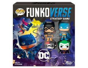 Pop Funkoverse Spagnolo Gioco Da Tavolo Dc Comics 4pcs Funko
