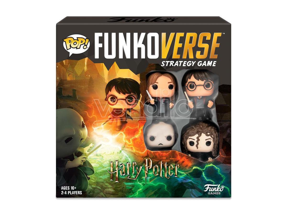 Pop Funkoverse Spagnolo Gioco Da Tavolo Harry Potter 4pcs Funko