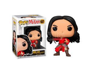 Disney Mulan Funko Pop Vinile Figura Mulan Guerriera 9 cm