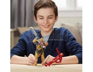 Marvel Avengers Iron Man vs Thanos set 2 figures Hasbro