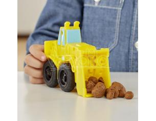 Play-Doh Wheels Excavator and Loader Play-doh