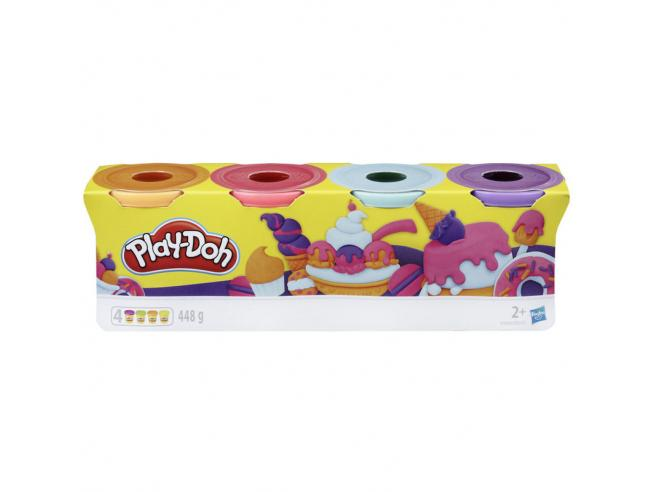 Play-Doh Pongo Pacco da 4 pots Play-doh