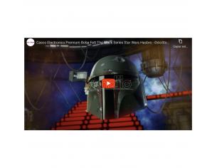 Star Wars Casco Elettronico di Boba Fett Serie Nera Premium Hasbro