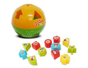 The Zenon Farm Learn Shapes E Colors Ball Bandai