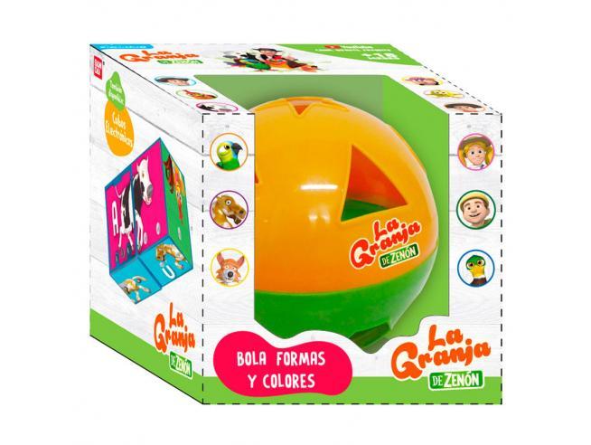 The Zenon Farm Learn Shapes and Colors ball Bandai
