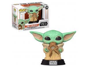 POP figure Star Wars Mandalorian The Child with Frog Funko