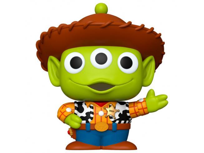 Disney Pixar Remix Funko POP Animazione Vinile Figura Alieno come Woody 25 cm