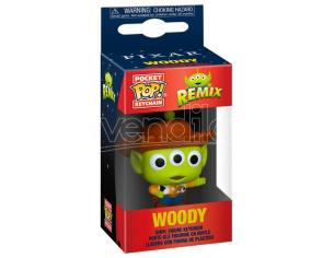 Pocket Pop Portachiavi Disney Pixar Alien Remix Woody Funko