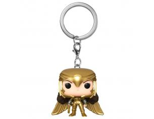 Pocket Pop Portachiavi Dc Wonder Woman 1984 Wonder Woman Gold Wing Funko
