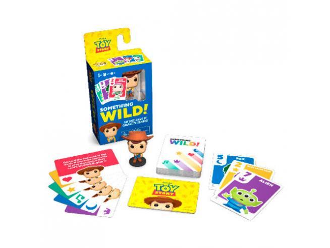 Something Wild Card Game Disney Toy Story German / Spagnolo / Italian Funko