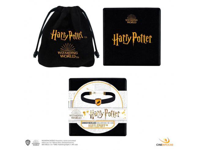 Harry Potter Tassorosso Choker Collana Cinereplicas