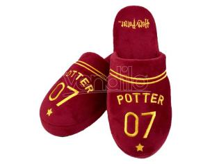 Harry Potter Pantofole Quidditch da Uomo Capitano Potter 42-45 Groovy