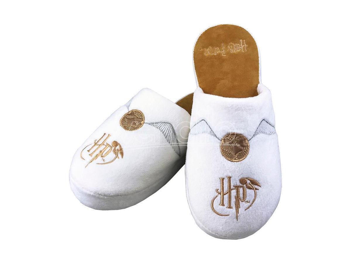 Harry Potter Pantofole con Boccino d'Oro da Donna Taglia 38-41 Groovy