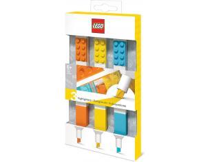 Lego Set di 3 Evidenziatori Colorati  JoyToy
