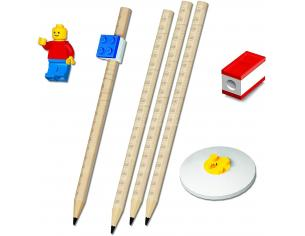 Lego Set 8 Pezzi di Cancelleria con Figurina JoyToy