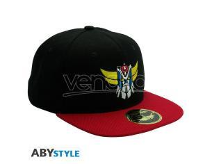 Grendizer - Snapback Cap - Black & Red - Grendizer