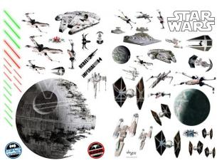 Star Wars - Stickers - 100x70cm - Battleships (blister)