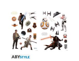 """Star Wars - Stickers - 100x70cm - """"the Force Awakens"""" (blister)"""