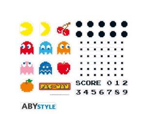 Pac-man - Stickers - 50x70cm - Characters & Maze
