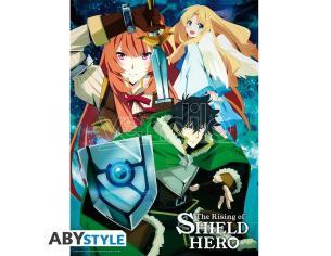 """Shield Hero - Poster """"naofumi's Party"""" (52x38)"""