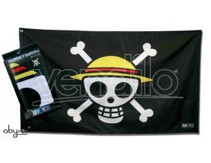 """One Piece - Flag """"skull - Luffy"""" (70x120)"""