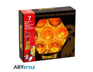 Dragon Ball Replica 7 Sfere del Drago Shenron in Box da Collezione ABYStyle