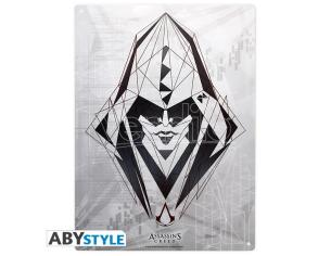 "Assassin's Creed - Metallo Plate ""assassin"" (28x38)"
