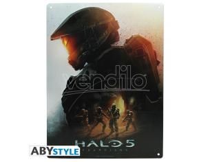 "Halo - Metal Plate ""keyart"" (28x38) With Hook"