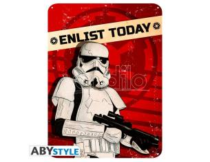 "Star Wars - Metallo Plate ""enlist Today"" (28x38)"