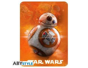 Star Wars - Metal Plate Bb8 (28x38)