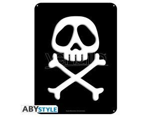 "Captain Harlock - Metallo Plate ""emblem"" (28x38)"