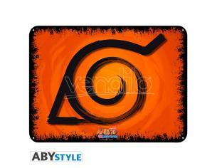 """Naruto Shippuden - Metal Plate """"konoha"""" (28x38)"""