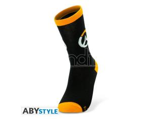 Overwatch - Socks - Black & Orange - Logo