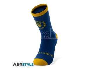 World Of Warcraft - Socks - Blue & Yellow - Alliance