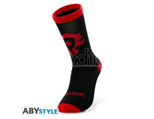 World Of Warcraft - Socks - Black & Red - Horde