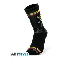 One Piece - Socks - Black - Skull
