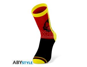 Marvel - Socks - Yellow, Red, Black - Iron Man