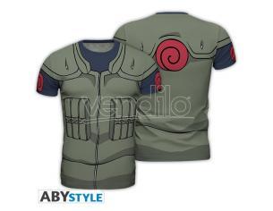 """Naruto Shippuden - Replica T-shirt """"kakashi Costume"""" Uomo Small"""